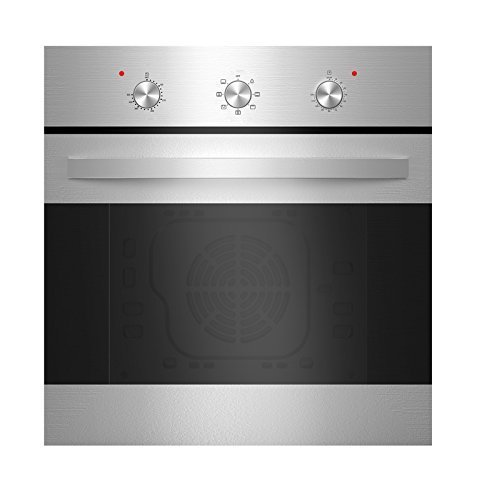 Empava KQP65B-14-220V Tempered Glass Electric Built-In Single Wall Oven