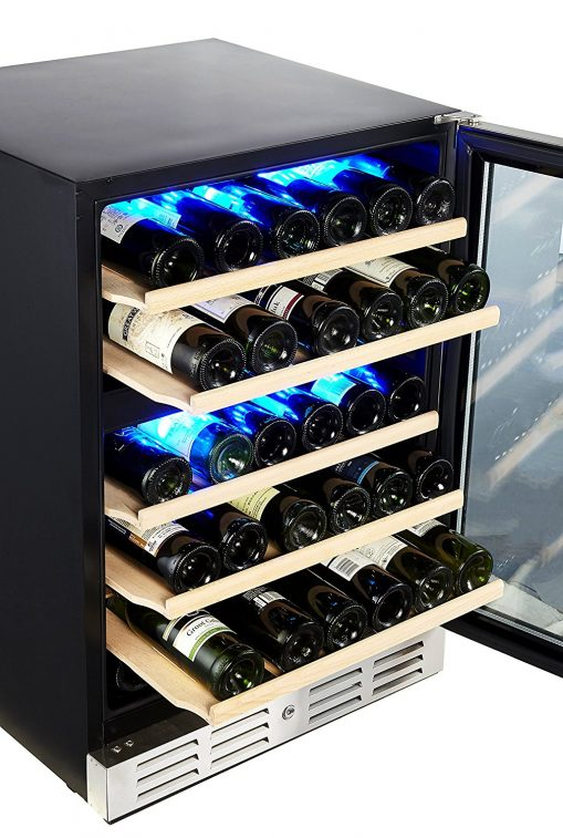 Kalamera KRC-46DZB-TGD 24 Wine refrigerator 46 bottle