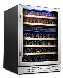 Kalamera KRC-46DZB-TGD 24' inch Wine refrigerator