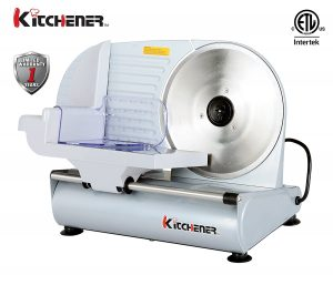 Kitchener 9-inch Professional Electric Meat Deli Cheese Food Slicer
