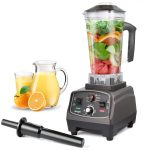 MengK 1400W High Speed Electric Professional Blender