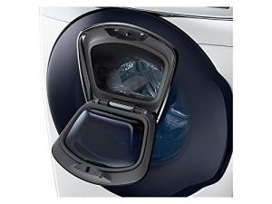 Samsung Mega Capacity Steam HE Front Load Laundry System with Innovative Add-A-Wash Door