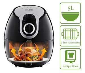 Simple Living Products SL-AF-01 5L Air Fryer