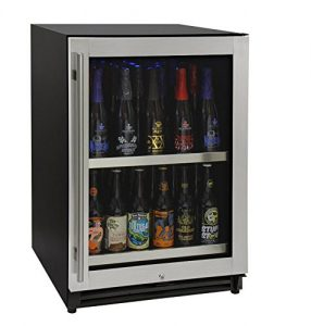 Kegco VSCB-24SSRN 24 inch Wide Undercounter Craft Beer Center Bomber