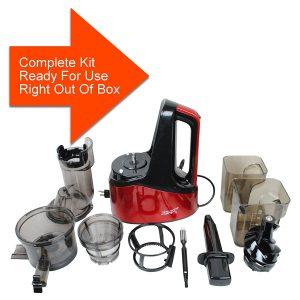 New Age Living SJC-1500 Masticating Juicer Kit