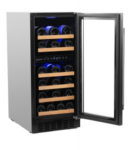 Smith & Hanks 32 Bottle Dual Zone Wine Fridge