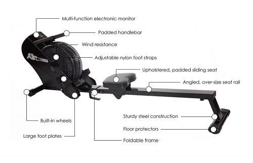 Stamina ATS 1403 Air Rowing Machine