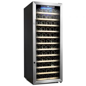 Kalamera KRC-85ASS 80 Bottle Freestanding Compressor Wine Cooler