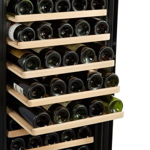 Kalamera KRC-85ASS 80 Bottle Freestanding Wine Cooler