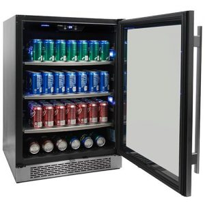 Avallon 152 Can 24 inch Built-In Beverage Cooler