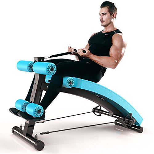 FEIERDUN Abdominal Adjustable Sit Up Bench