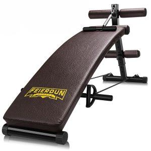 FEIERDUN Workout Abdominal Adjustable Sit Up Bench