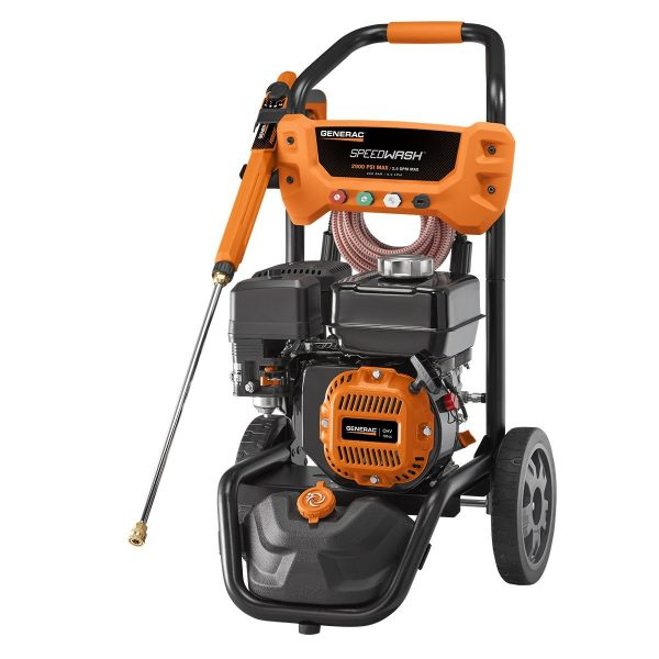 Generac SpeedWash 6882 2900 PSI 2.4 GPM 196cc Gas Powered Pressure Washer