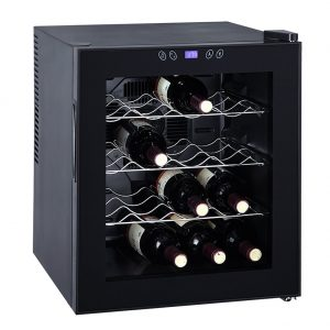 SMETA 16 Bottles 1.7 Cu Ft Thermoelectric Wine Cooler