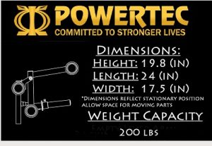 Powertec WB-LLA16 Leg Lift Accessory