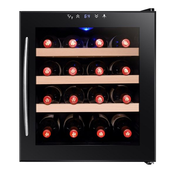 Firebird FB-WC0024 16 Bottles Thermoelectric Freestanding Wine Cooler