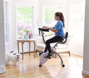 Ivation Magnetic Folding Exercise Bike