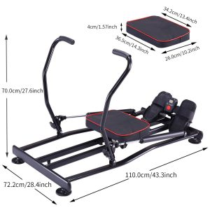 KiNGKANG Rowing Machine Adjustable Resistance