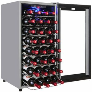 Firebird New Thermoelectric Quiet Operation Wine Cooler wc0002