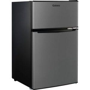 Galanz GL31S5 2 Door Stainless Steel Dorm Size Refrigerator