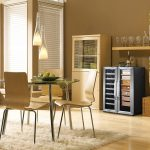 Whynter CWC-351DD Freestanding Wine Cooler with Cigar Humidor Center