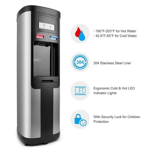 4-EVER Top Loading Water Cooler Dispenser