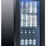 KUPPET 80-Can Beverage Cooler and Refrigerator