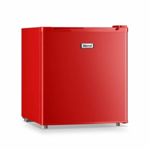 WANAI Compact Refrigerator, 1.7 Cubic Ft Classic Retro Refrigerator