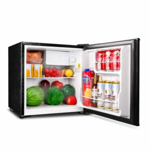 TACKLIFE Mini Fridge with Freezer Energy Star Single Door, 1.6 Cubic Feet