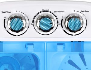 SD190115 super deal compact washer spinner