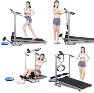 Uamsiste Mechanical Walking 4-in-1 Treadmill