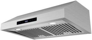 HTH 30-in Under Cabinet Range Hood 760 CFM Ducted