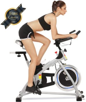Angotrade Indoor Cycling Spin Bike