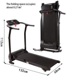 Finelylove Folding Treadmill
