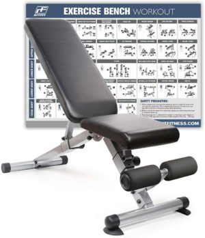 RitFit Adjustable Foldable Utility Bench