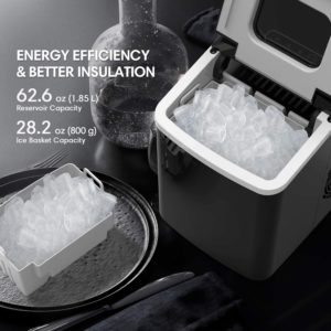 terra hiker 28 lb. ice maker