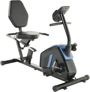 Exerpeutic 4121 Easy Step Thru Magnetic Recumbent Bike