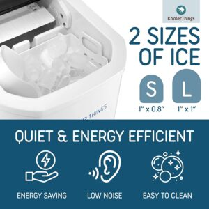 KoolerThings Automatic Self-Cleaning Ice Machine