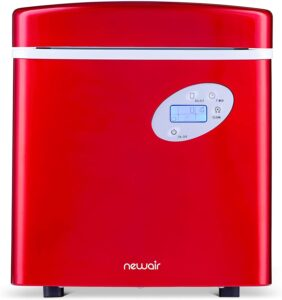 NewAir AI-215R Portable Ice Maker 50 lb. Daily