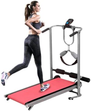 CAMILLEE Four-in-one Manual Treadmill