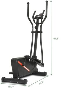 Kicode Magnetic Elliptical Machine Trainer