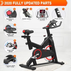TURUDU Indoor Stationary Spin Bike