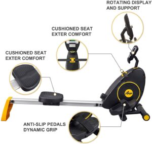 Fisup Silent Magnetic Rower