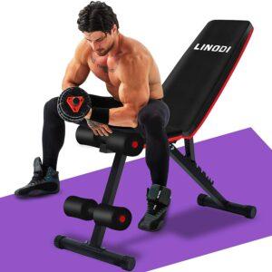 LINODI Adjustable Weight Bench