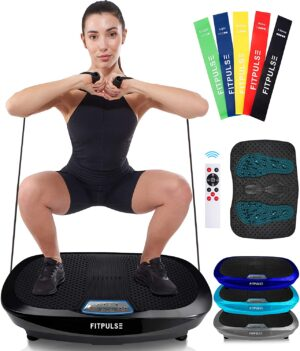FITPULSE Vibration Plate Exercise Machine