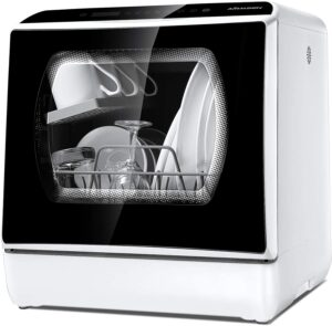 Airmsen AE-TDQR03 Portable Countertop Dishwasher