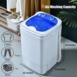 Auertech Mini Washing Machine 9lbs