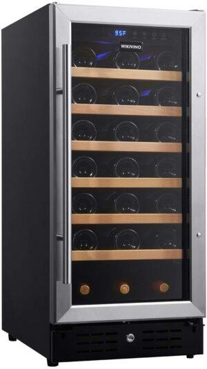 WIKIVINO 15-inch Wine Cooler refrigerator