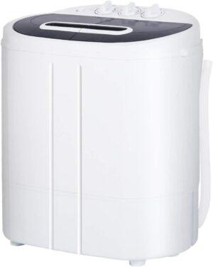 AODAILIHB Portable Mini Compact Twin Tub Washer