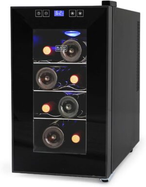 BLACK+DECKER BD60026 8-Bottle Wine Cooler